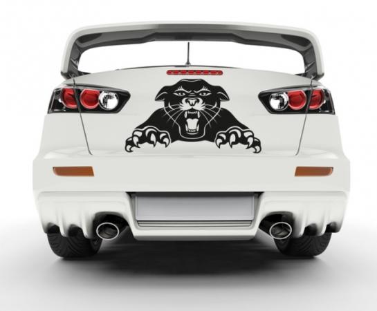 Angreifender Panther 2