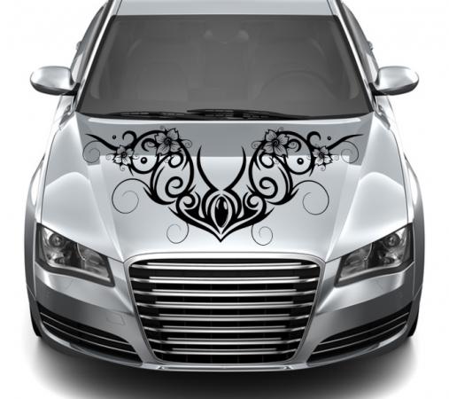 Motorhaube Ornamente 1