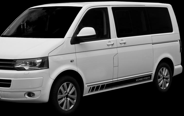 VW Transporter Autostreifen
