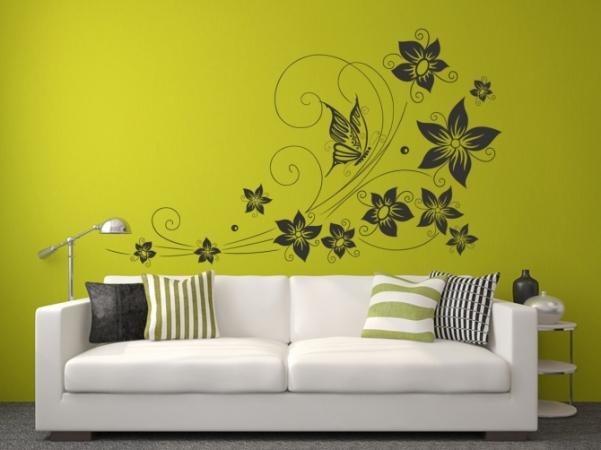 Schmetterlinge + Blumen