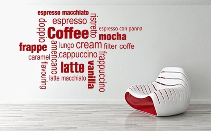Kaffe Schriftzug