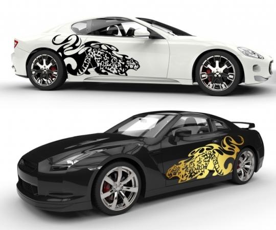Panther und Tiger Tattoo